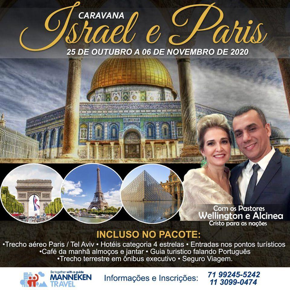 Caravana Israel e Paris